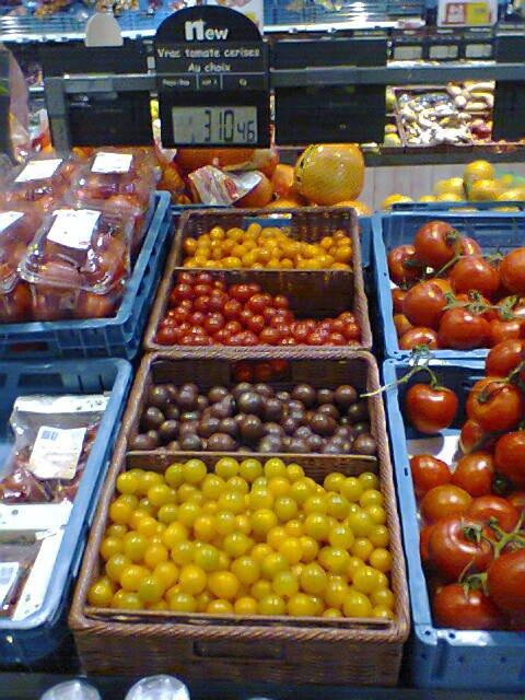 Quatuor de tomates - rue Gati de Gamond