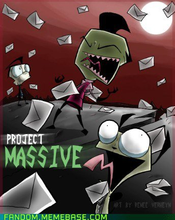 Le retour d'Invader Zim grâce au Project Massive!