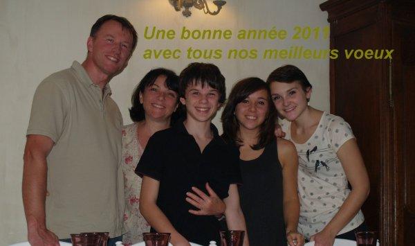 Une nouvelle année.... 2011