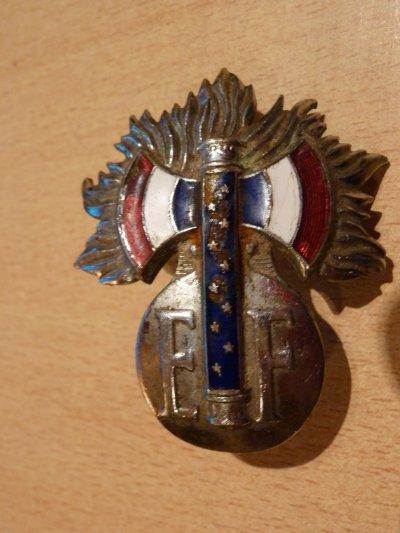 insigne de casque francais sous vichy