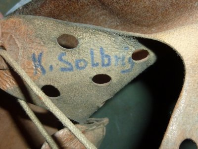 casque allemand Mdle35 doubles insignes (100%d'origine)