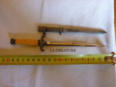 Miniature de dague Heer