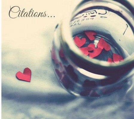 Citations...♥