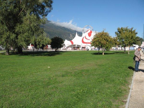 Voici des photos du Cirque Arlette Gruss à Aix-les-Bains