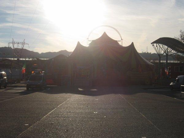 Le cirque Lydia Circus de la fammille Prin à Chasse-sur-Rhône (38)