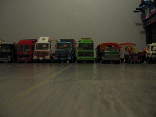 Le parc routier du Cirque !!! 47 véhicules et bientôt 50 véhicules !!!