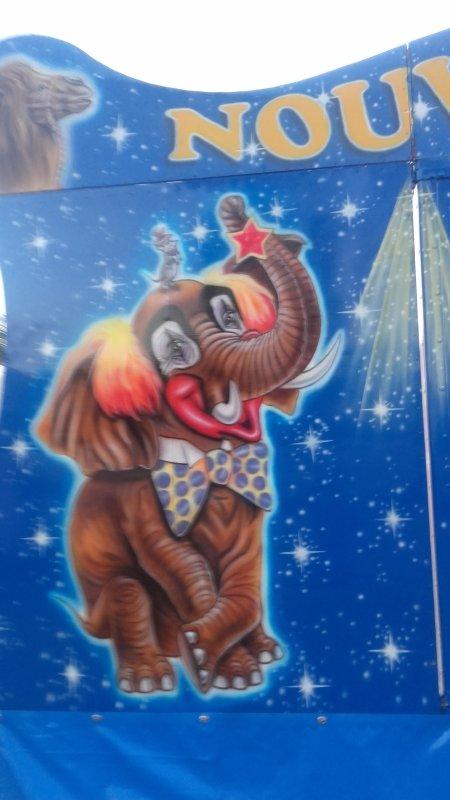 Petit cirque croisé devant mon camping direction Cornero !!!