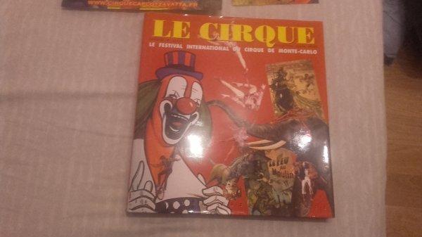 Mes nouveaux documents sur le Cirque