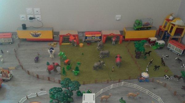 Ma ménagerie idéale avec plus de 130 animaux !!! Quoi que manque peut être deux trois éléphants...