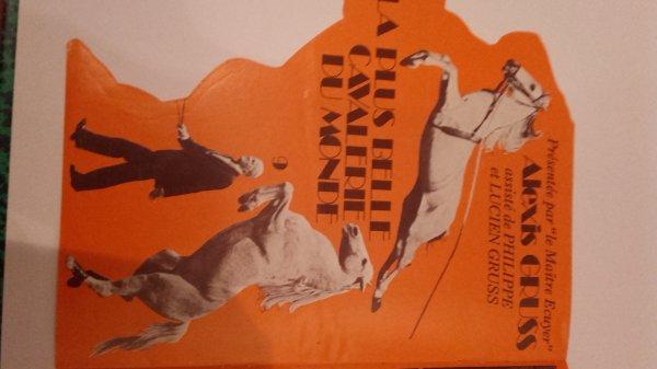 Programme de 1976 du Cirque de la Voix du Nord si vous avez plus d'infos sur ce cirque n'hésitez pas merci !!!