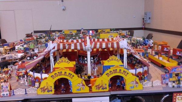 Le cirque installé à Villette d'Anthon !!! Expo n°2