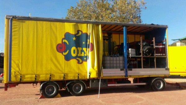 Le cirque Olympia à Chasse sur Rhône les  26 et 27 octobre