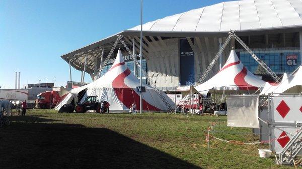 Cirque Arlette Gruss à Lyon au Groupama Stadium !!! n°3