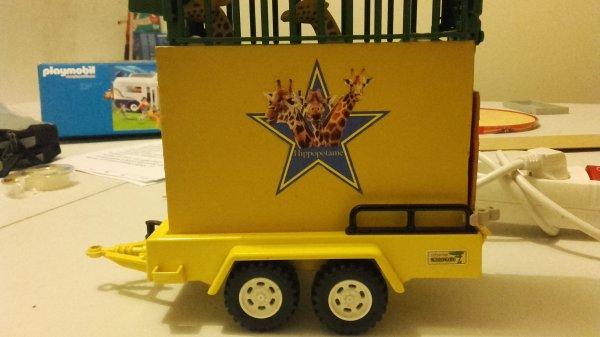 Création d'une remorque Girafe et d'un camion poubelle entretien !