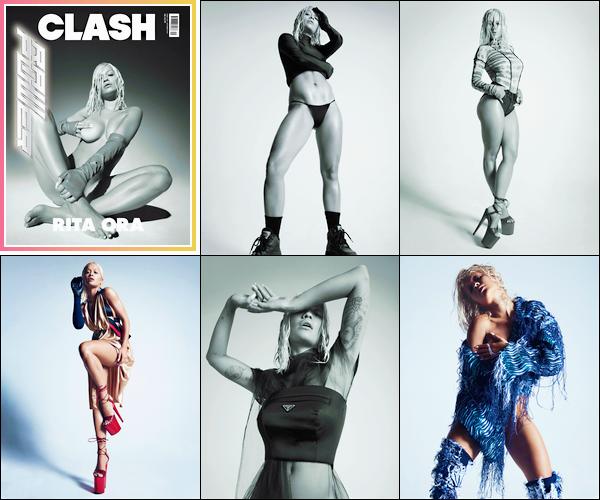 ─ Rita a prit la pose pour le magazine anglais « Clash » et y fait la première de couverture !