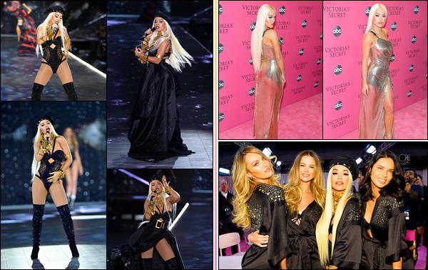 '- '-•-09/11/2018- : Rita performait lors du défilé de la marque « Victoria's Secret » qui se déroulait à New-York ! En effet, Rita a chantée sa dernière chanson intitulée « Let You Love Me » lors du segment « Downtown Angels » ! C'est un immense top. -