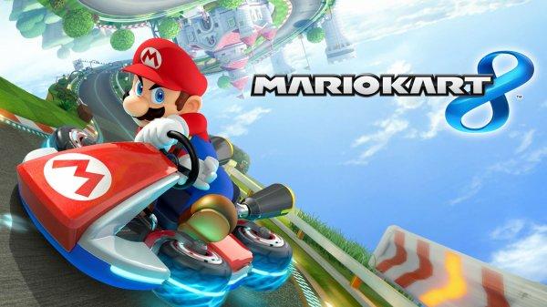 Critique jeu: Mario Kart 8 sur Wii U.