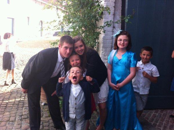 les enfants avec tonton