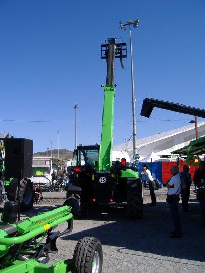 """Sommet de l'élevage 2010 """"Stand du groupe Deutz-Fahr Same Lamborghini"""""""