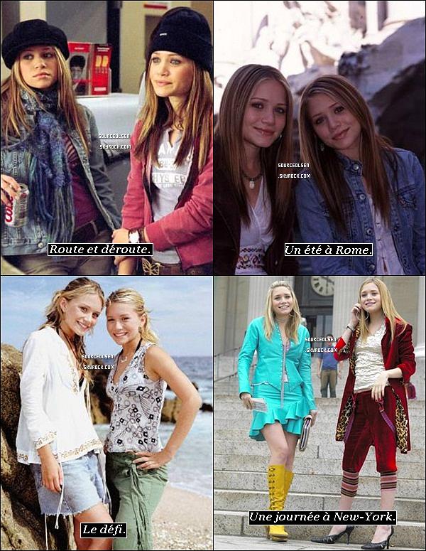quatre film des jumelles Olsen