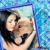Selena Gomez et son chien