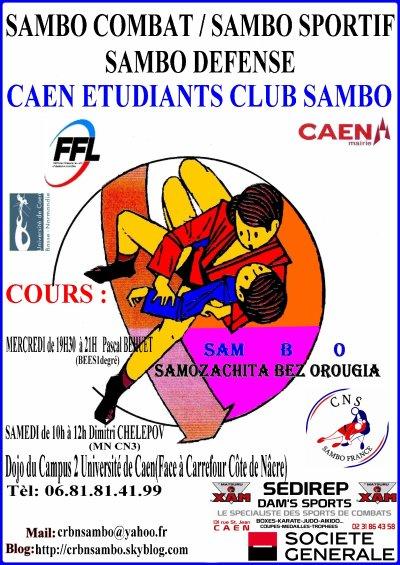 Cours du CEC Sambo