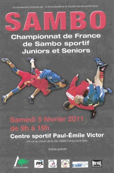 Classements du Championnat de France de Sambo Sportif pour la Basse-Normandie