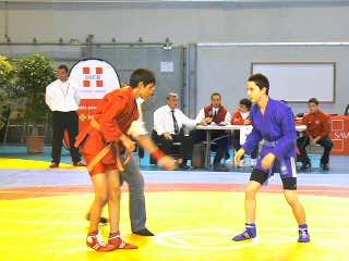 Championnats de France de Sambo Sportif à Chambéry le 19 et 20 Mars 2011