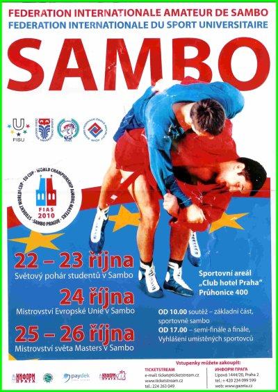 Vidéos et extraits Vidéos des Championnats du Monde de Sambo Masters Prague Octobre 2010