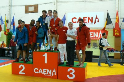 Classement du 11ème Open de Sambo du 26 11 2011