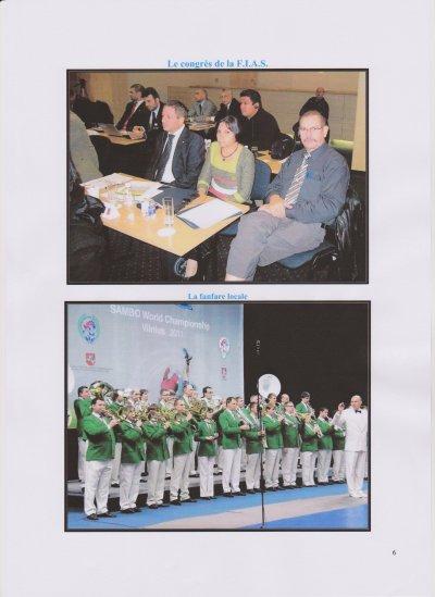 Info Comité Nationale de Sambo/FFL