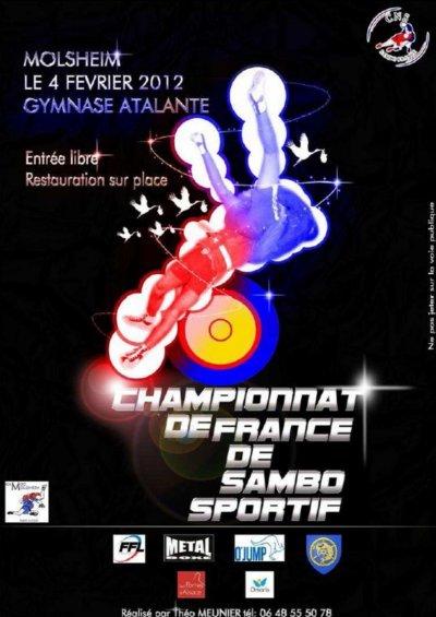 Championnats de France de sambo sportif le 04 février 2012 et AG du CNS le 05.02.2012 à Molsheim
