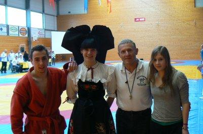 Classements des Championnats de France de Sambo Sportif à Molsheim Alsace le 04 février 2012