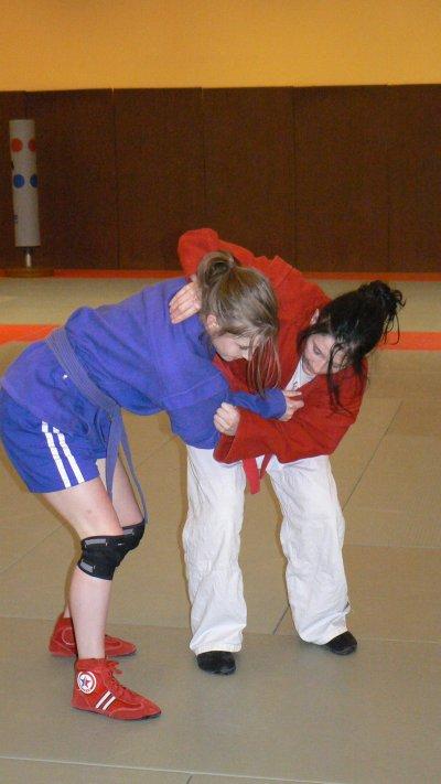 Stage Technique Sambo pour les Jeunes au CSN d'Houlgate (ex.CREPS) les 21 et 22 février 2012