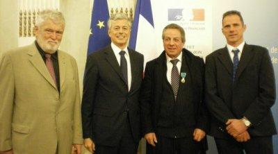 Médaille d'Or Jeunesse et Sports  Date :13-02-2012