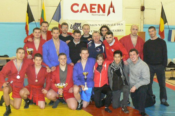 résultats du12ème Open de Sambo 17 et 18 Novembre 2012 à Caen