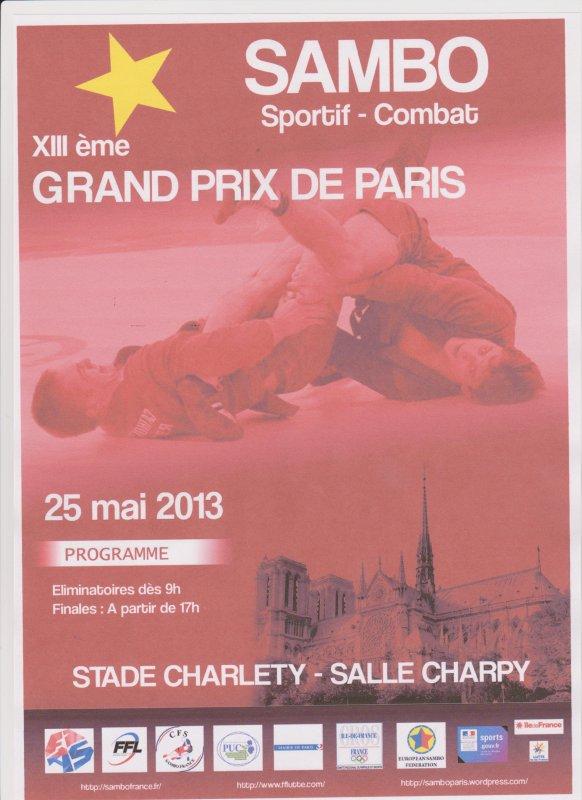 13ème Grand Prix de Paris le 25 mai 2013