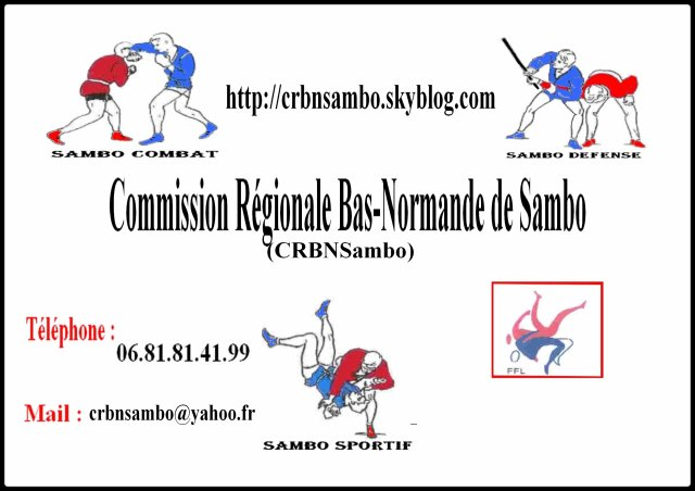 Commission Régionale Bas-Normande de Sambo