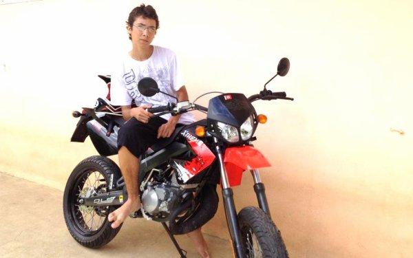 la moto de tino