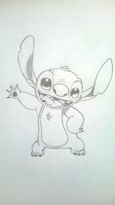 Stitch crayonné ~