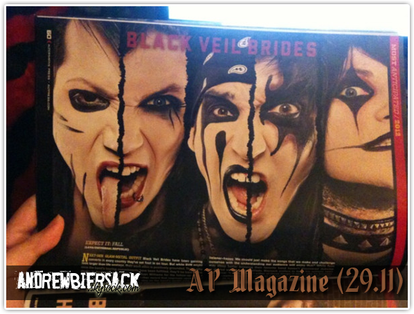 art. 12 ~ MAGAZINES AP Magazine et Kerrang.