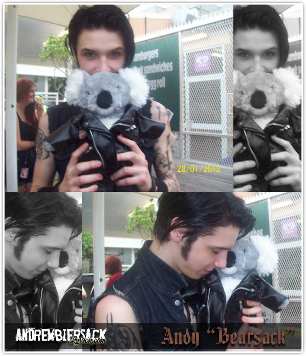 art. 14 ~ BACKSTAGES EN AUSTRALIE Andy et son koala.