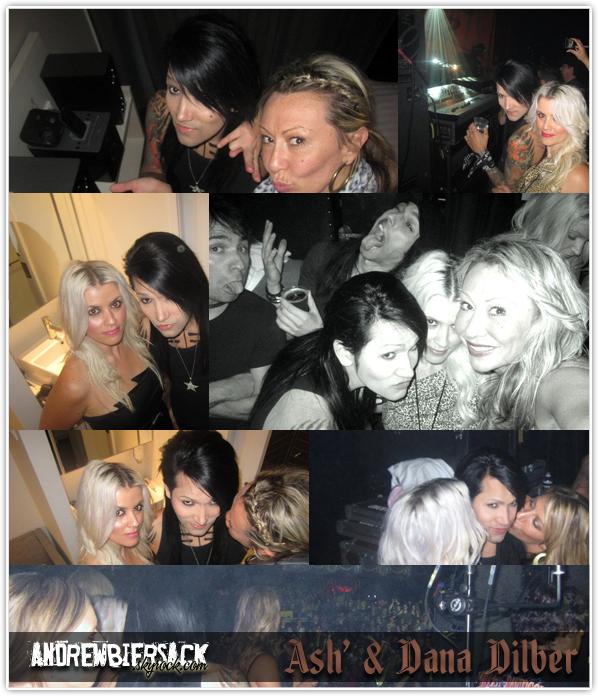 art. 20 ~ MELBOURNE Alors que le groupe était à Melbourne dans le cadre du Soundwave Festival, Ashley a passé la soirée en compagnie de Dana Dilber (qui travaille pour Virgin en Australie) et Nikki Quinlan (son amie).