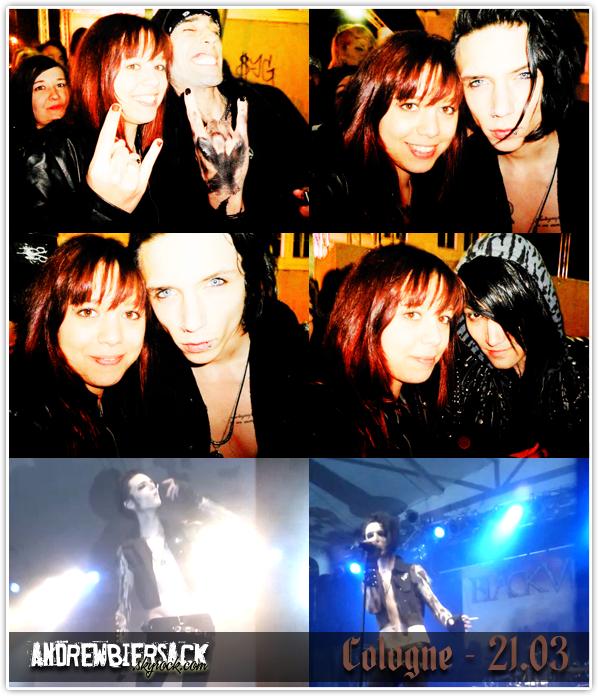 art. 28 ~ REBELS TOUR 2012 (EUROPE) Cologne, Essigfabrik, le 21 Mars 2012.