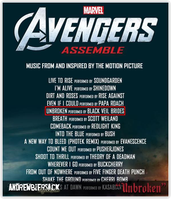"""art. 30 ~ NOUVELLE CHANSON Composée pour l'event """"Avengers Assemble"""" de Marvel."""
