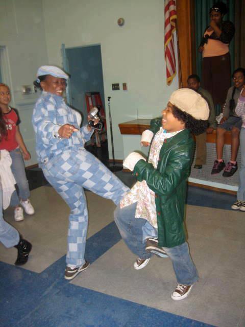 MDRR Roc danse avec sa Mére