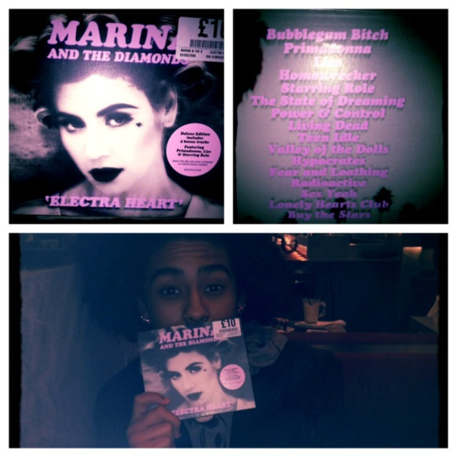 Prince avec son #CD du moment