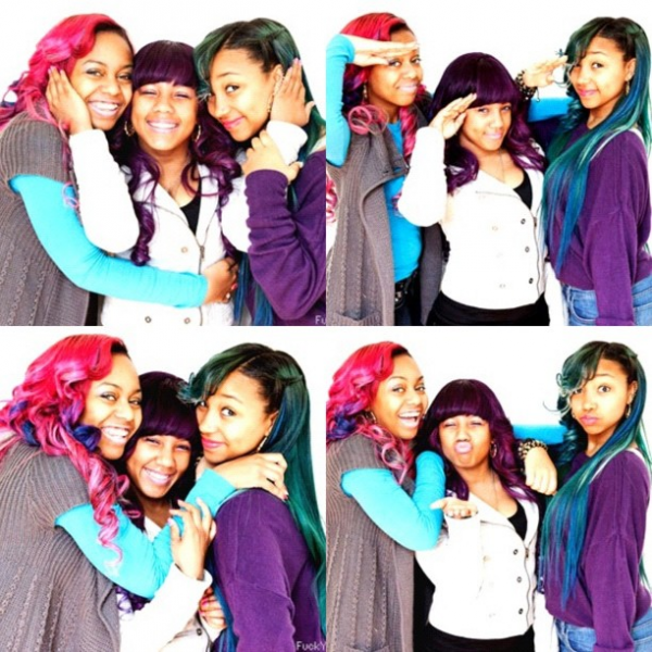 @TheRealOMGGirlz by @mindlessfrance
