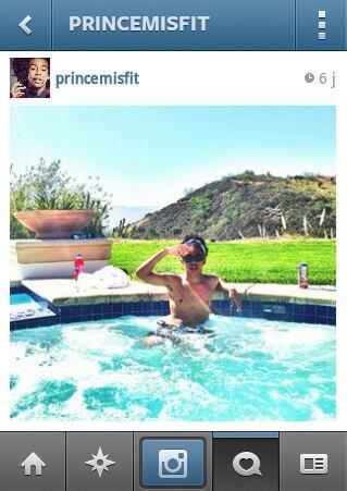 Prince en mode Piscine