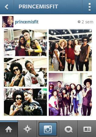 Prince et c Amis!